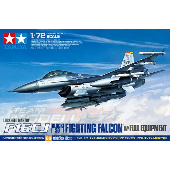 Tamiya F-16CJ Fighting Falcon - makett