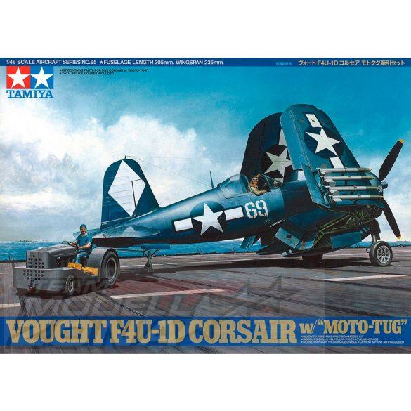 Tamiya Vought F4U-1D Corsair - w/Moto Tu - makett