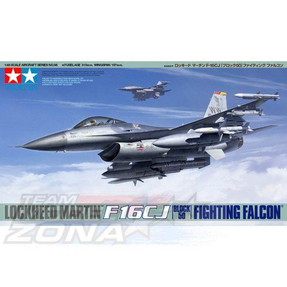 Tamiya Lockheed Martin F-16CJ - Fighting Falcon - makett