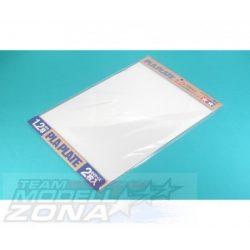 Tamiya - 2 db fehér műanyag lap - 1.2mm vastagság - 257x364mm