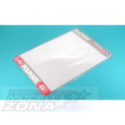 Tamiya - 4 db átlátszó műanyag lap - 364 x 257 x 0,4 mm