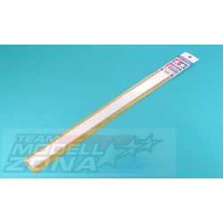 Tamiya - 10 db 2x2 mm, 400 mm hosszú négyszögletes műanyag profil□
