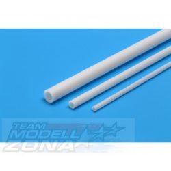 Tamiya - 5 db fehér műanyag rúd 5mm / 400mm
