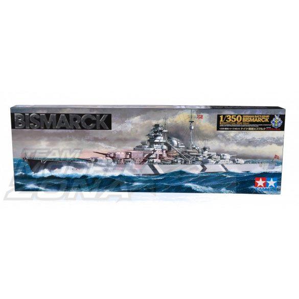 Tamiya German Battleship Bismarck- makett