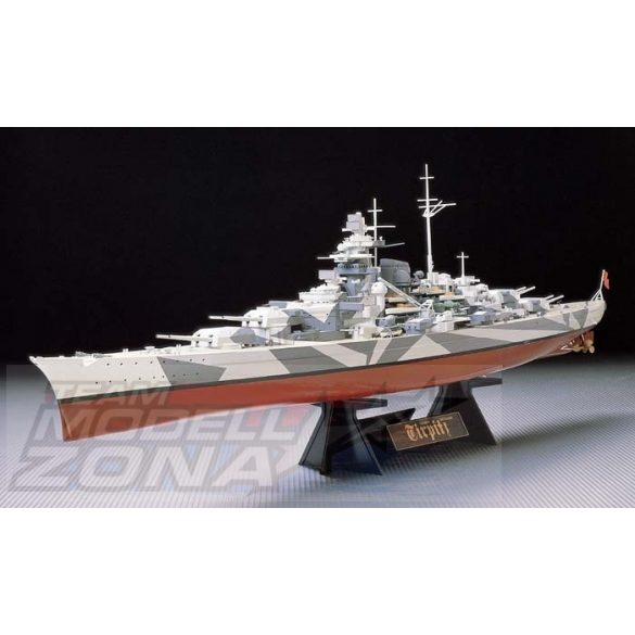 Tamiya German Tirpitz Battleship- makett