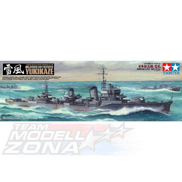 Tamiya Yukikaze- makett