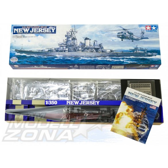 Tamiya US Battleship BB-62 New Jersey- makett