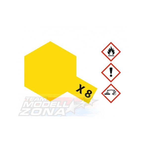 Tamiya Acrylic X-8 Lemon Yellow