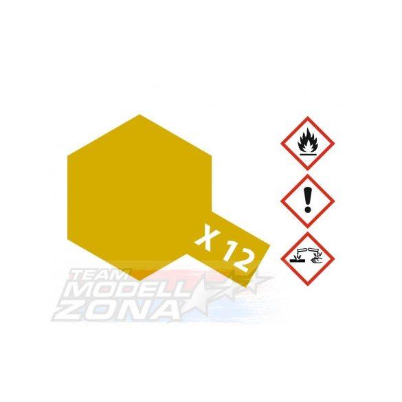 Tamiya Acrylic X-12 Gold Leaf