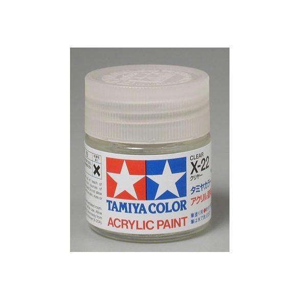 Tamiya Acrylic X-22 Clear
