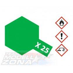 Tamiya Acrylic X-25 Clear Green