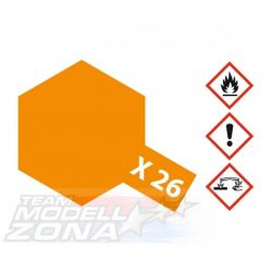 Tamiya Acrylic X-26 Clear Orange