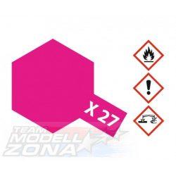 Tamiya Acrylic X-27 Clear Red