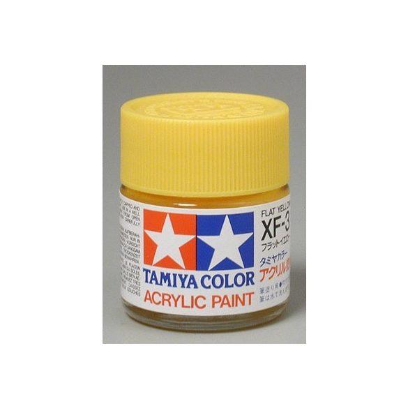 Tamiya Acrylic XF-3 Flat Yellow