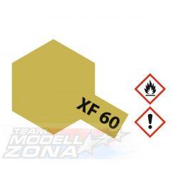 Tamiya Acrylic XF-60 Dark Yellow