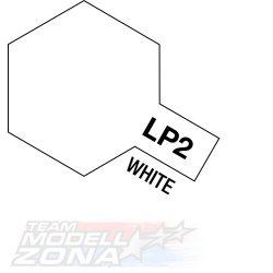 LP-2 White 10ml (VE6) - fehér festék