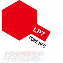 LP-7 pure red 10ml (VE6) - piros festék