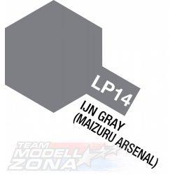 LP-14 IJN gray Maizuru A. matt 10ml(VE6) - japán maizuru fegyver szürke -  festék