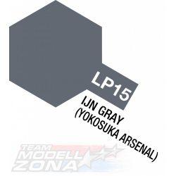 LP-15 IJN gray Yokosuka Arsenal. ma. 10ml(VE6) -  japán navy szürke festék