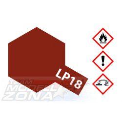 LP-18 dull red 10ml (VE6) - vörös - festék