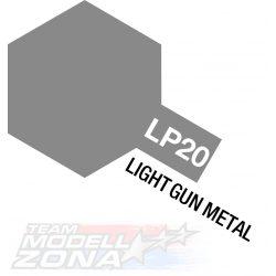 LP-20 light gun metal 10ml (VE6) - világos fegyver szin - festék
