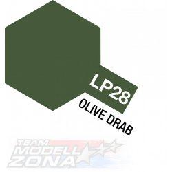 LP-28 olive drab - 10ml (VE6) - oliva barna festék