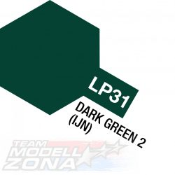 LP-31 (10 ml) dark green - sötét zöld festék - 10 ml