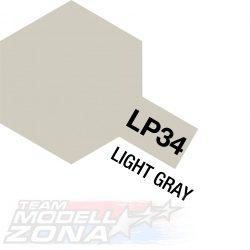 LP-34 light gray - világos szürke festék - 10 ml