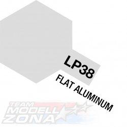 LP-38 flat aluminium - aluminium színű festék - 10 ml