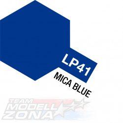 LP-41 mica blue - csillám kék festék - 10 ml