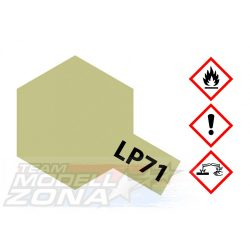 LP-71 Champagner Gold - pezsgő arany fényes festék (10ml)