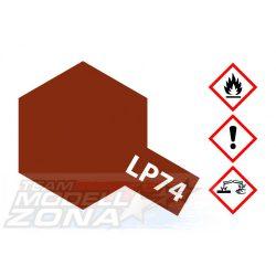 LP-74 Erdbraun matt - föld barna festék (10ml)