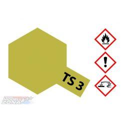Tamiya TS-3 Dark Yellow spray