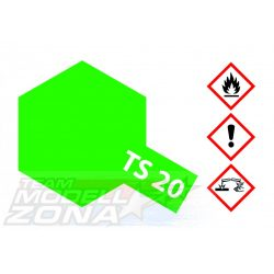 Tamiya - TS-20 metál világos zöld - 100ml festék