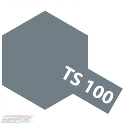 Tamiya TS-100 semi gloss BRIGHT GUN METAL 100ml festék