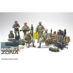 Tamiya - 1:35 U.S. Modern Elite - Infantry w/ Accessory - makett