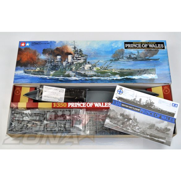 Tamiya British Prince of Wales- makett