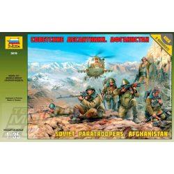 Zvezda Soviet Paratroops Afghanistan - makett