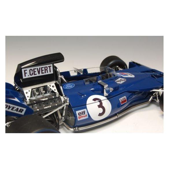 Ebbro Tyrrell 003 German GP 1970 - makett