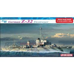 Dragon - 1:350 Deutsch.Zerstörer Z-32 - makett hajó