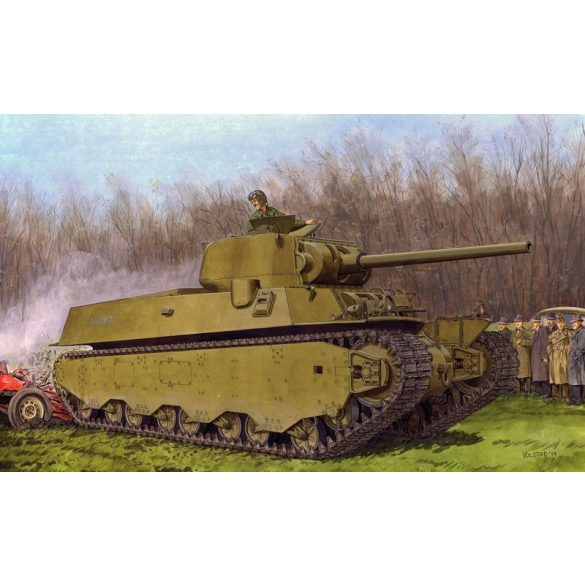 Dragon M6A1 Heavy Tank - makett