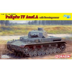 Dragon - 1:35 PzKpfw.IV Ausf.A Up-Armored Version - makett (*)
