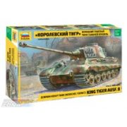 Zvezda  King Tiger Ausf. B (Henschel Turret) - makett