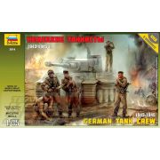 Zvezda 1:35 German tank crew 1943-1945 - makett