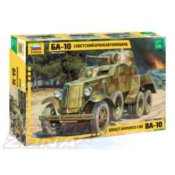 Zvezda Soviet Armored Car BA-10 - makett