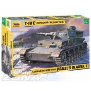 Zvezda - 1:35 Panzer IV Ausf.E (Sd.Kfz.161) Germ. páncélos - makett
