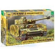 Zvezda - 1:35 Panzer IV Ausf.G (Sd.Kfz.161) - makett