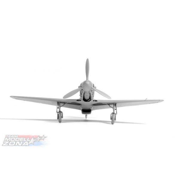 Zvezda - 1:35 YAK-3 Soviet WWII Fighter - makett