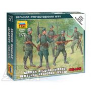 Zvezda German Regular Infantry 1939-43 - makett