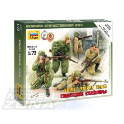 Zvezda Soviet Snipers - makett